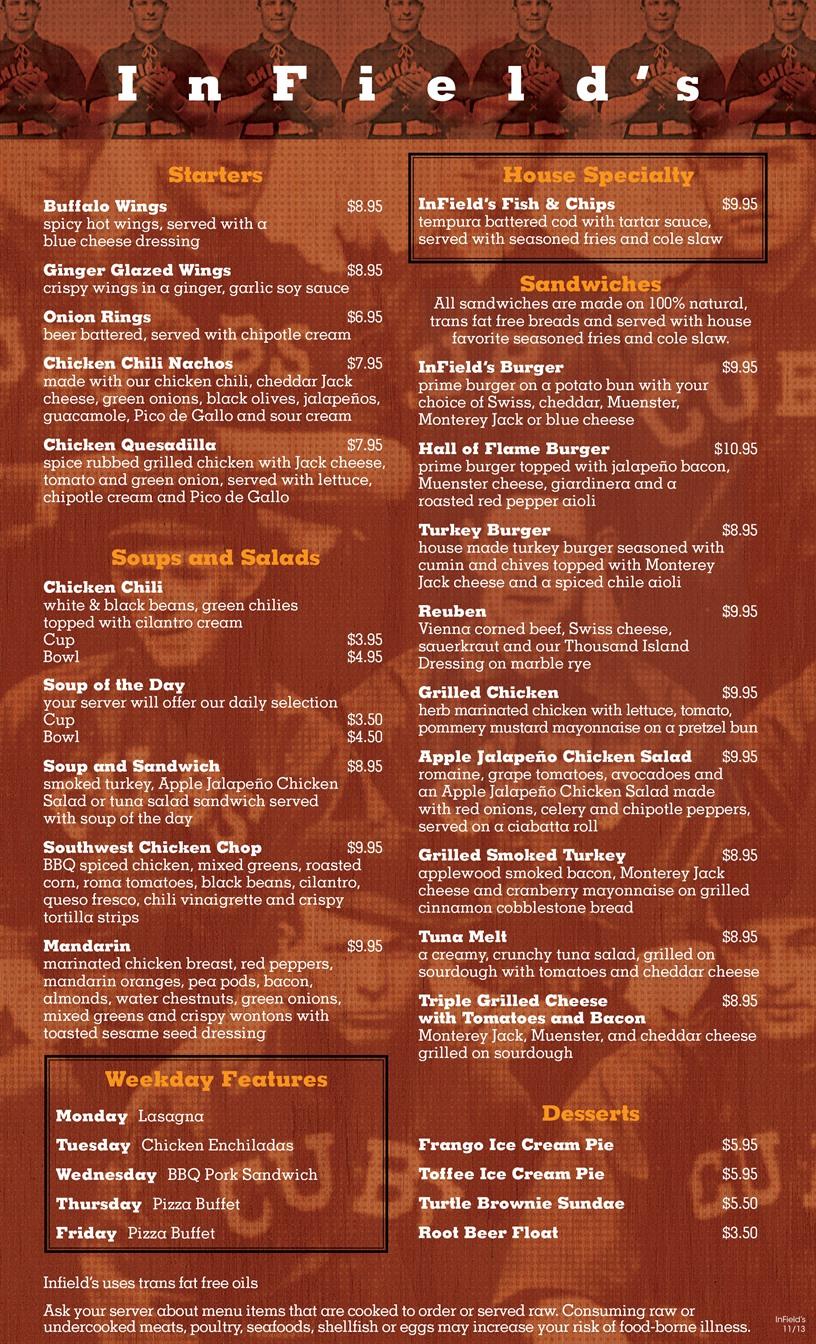 InFields menu 8.5x14