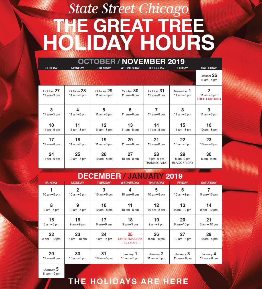 California Coast Credit Union Locations >> Holiday Hours | macysrestaurants.com